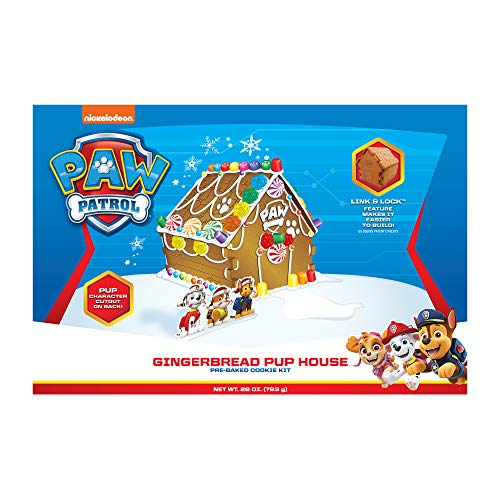 Bee Gingerbread Cottage Kit, Paw Patrol Pup House, 28 Ounce
