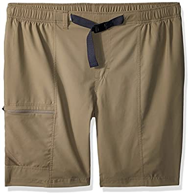 Columbia Men's Trail Splash Shorts, Stain & Water Resistant, Sun Protection, tusk, XLx10