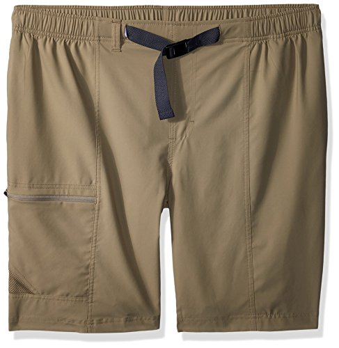 Columbia Men's Trail Splash Shorts, Stain & Water Resistant, Sun Protection, tusk, Lx10