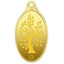 [Axis Credit Card Users] Muthoot Gold Bullion Corporation Metal 24k (999.9) Yellow Gold Bodhi Tree Pendant 2 Gm