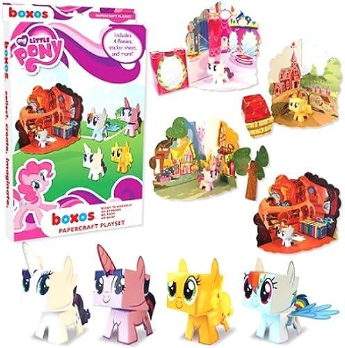 disfrutando de sus compras My Little Pony Papercraft Activity Activity Activity Set  en promociones de estadios