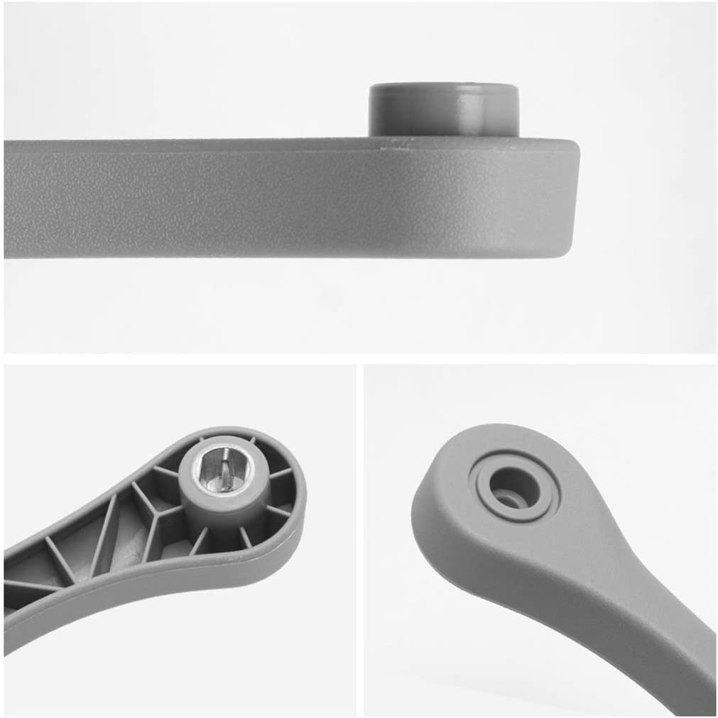 Gray Seat Adjuster Release Handle RH Right Passenger Seat Recliner Adjustment Handle for Colorado GMC Canyon SSR Hummer H3 or Oldsmobile Bravada 12473018 89039102