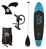 Aqua Marina BT-88882P Vapor Inflatable Stand-up Paddle Board with Sports AC-80322 iSUP Paddle