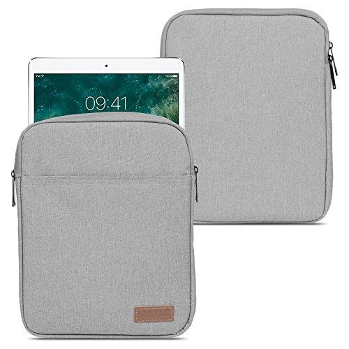 NAUC Apple iPad Pro 10.5 Zoll Tablet Sleeve Hülle Tasche Schutzhülle Grau Case Cover