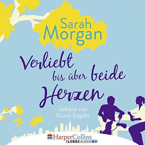 Verliebt bis über beide Herzen (From Manhattan with Love 4) audiobook cover art