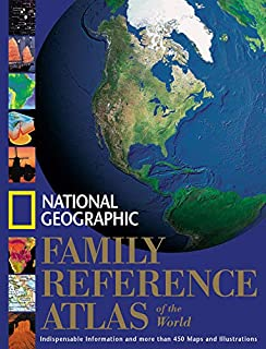 """National Geographic"" Family Reference Atlas of the World"