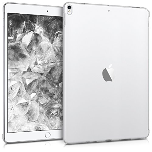"kwmobile Funda Tablet Compatible con Apple iPad Pro 10,5"" - Carcasa Trasera de TPU en Transparente"