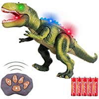 FiGoal Remote Control Dinosaur with LED Lights