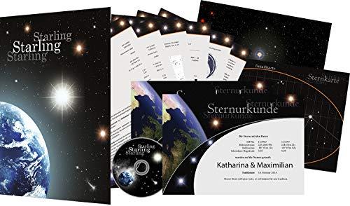 Sterntaufe Twin - Einen echten Stern kaufen - Sterntaufe verschenken - Stern benennen