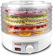 Sèche-alimentaire et de la déshydratation des fruits et légumes, 5 paniers amovibles, la température de 35 ° C à 70 ° C, 2...
