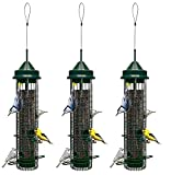 3 Pack Brome Squirrel Buster Classic Squirrel Proof Bird Feeder 1015