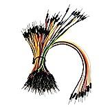 Z&T Solderless Flexible Breadboard Jumper Wires M/M Package 130pcs