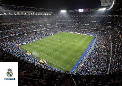 Grupo Erik Editores   Postal A4 Real Madrid Estadio Interior