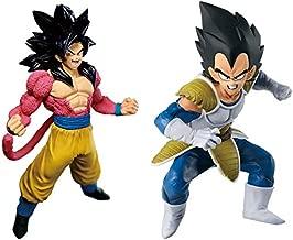 Banpresto Dragonball Z World Figure Colosseum 2 Vol.6 Vegeta BWFC & Dragon Ball GT Blood of Saiyans Special 3 SS4 Son Goku Set of 2 Figure