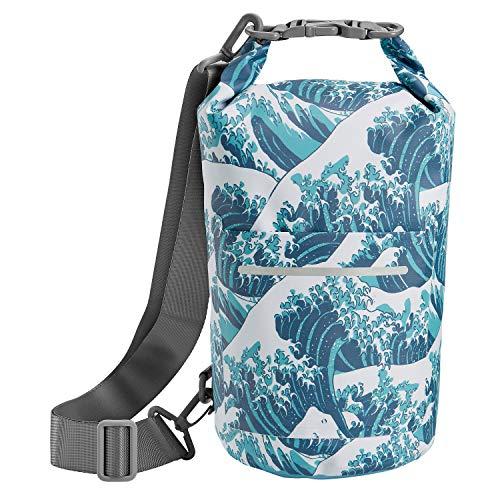 Skog Å Kust DrySak Waterproof Dry Bag   5L Waves
