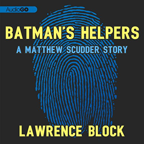 Batman's Helpers audiobook cover art