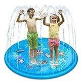 Geyueya Home - Alfombra infantil de juegos para niños, 170 cm, antideslizante, para chorro de agua, piscina, Splash, Pad mate para niños de verano