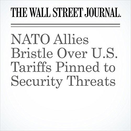 NATO Allies Bristle Over U.S. Tariffs Pinned to Security Threats copertina