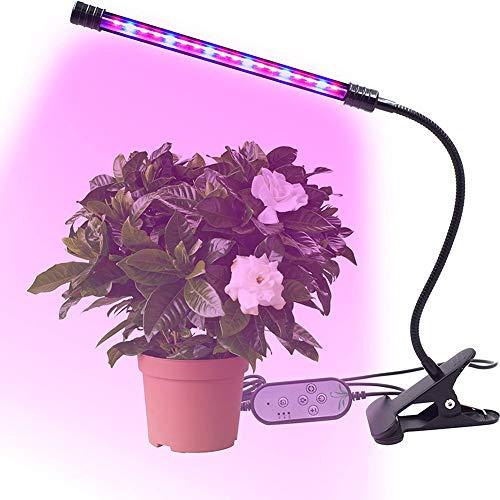 MZSG Phyto-Lampe Full Spectrum LED Mit Timer-Funktion Licht Betriebslampe Wachsen, 360 ° Gooseneck, Für Innen Keimlinge Blume Fitolampy Grow Box