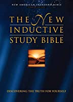 The New Inductive Study Bible: Nas : Burgundy Bonded Leather