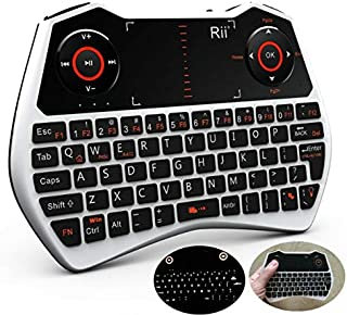 SMFR Wireless Bluetooth Keyboard for Tablet, PC, Smart TV,Laptop air Mouse with Russia
