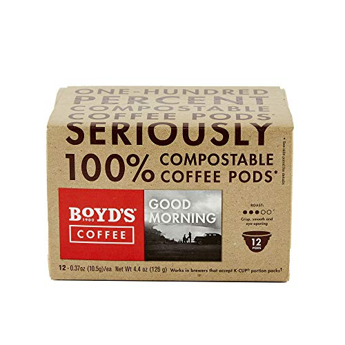 Boyd's Good Morning Coffee - Medium Roast - Single Cup (12 Count)