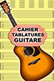 cahier tablatures guitare: 200 pages