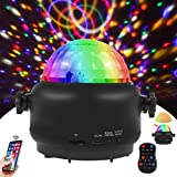 Disco Lights Bluetooth Speaker,Night Light,3 in 1 USB Party Lights Sound Activated, Remote Control Mini Disco Ball Light,LED Stage Light for DJ,Christmas Party,Pool,Club,Home,Together,Karaoke,Wedding