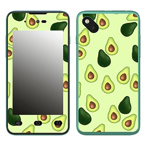 Disagu SF-106598_1122 Design Folie für Wiko Sunset 2 - Motiv Avocados Muster grün