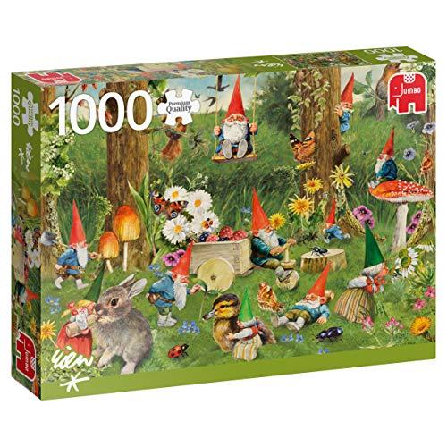 Jumbo 18841 Puzzel Kabouters Rand van Het Bos: 1000 Stukjes