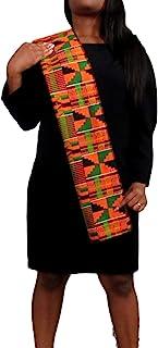 African Kente Stole, Kente Scarf, Sash, Kwanzaa, Choir, Black History, Graduation, African Pattern, Table Runners