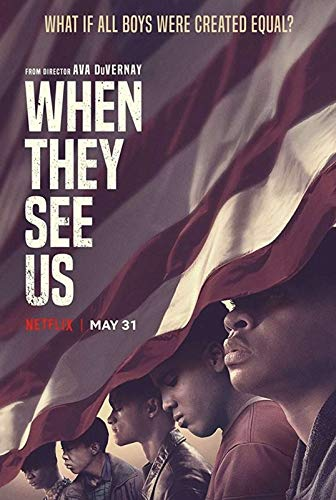 Strange Posters When They See Us American Drama Web Television Miniseries Multicolor 12 x 18 Inch Poster SPWT71
