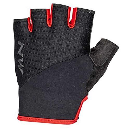 Northwave Fast Fahrrad Handschuhe kurz schwarz/rot 2021: Größe: M (8)