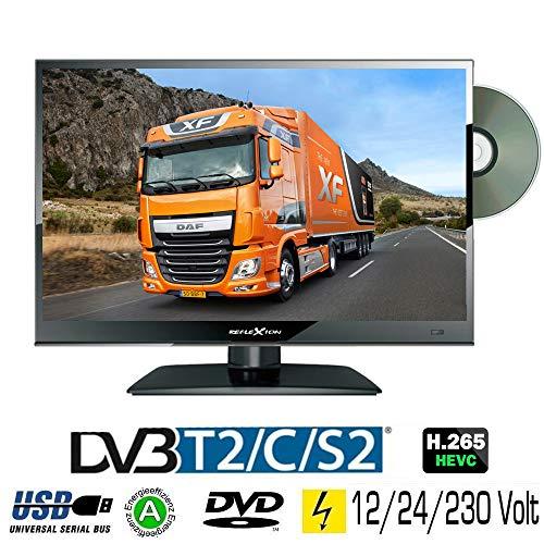 "Reflexion LDD167 15,6\"" LED Fernseher DVD DVB-S/S2 -C -T/T2 230/12 / 24 Volt"
