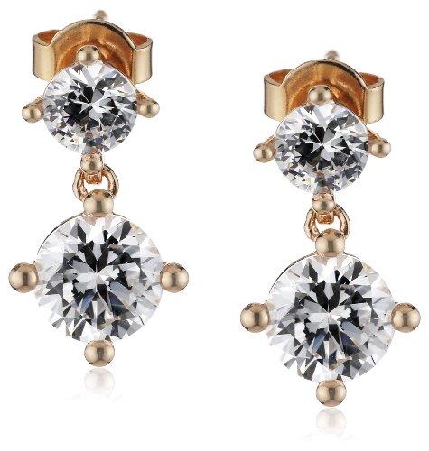 Esprit Jewels Damen-Ohrstecker 925 Sterling Silber svelte sparkle rose ESER92642C000