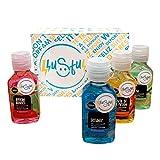 LLUSFUL Gel Higienizante perfumado para manos. Hidrogel limpia tu piel. Uso frecuente aprox 5 mes