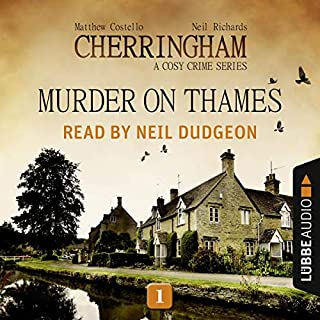 Murder on Thames audiobook cover art
