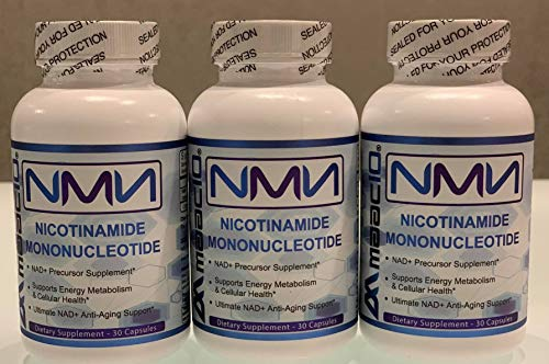 Maac10-NMN 30 caps,125mg Triple Bottles Nicotinamide Mononucleotide Fast Shipping from EU Warehouse with GLS