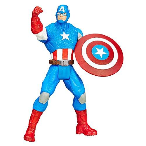 HASBRO Marvel Avengers Action Figure 10cm. CAPTAIN AMERICA B6295 B6613