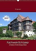 Fachwerk-Schloesser in Baden-Wuerttemberg erleben (Wandkalender 2022 DIN A3 hoch): Entdecken Sie die Schoenheit von alten Fachwerk-Schloessern - mit PLANER-Funktion (Planer, 14 Seiten )