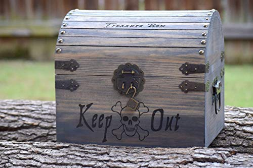 Kids Toy Chest - Kids Treasure Chest - Personalized Gift for Kids - Children's Treasure Chest - Gift for Kids - Pirate Treasure Chest