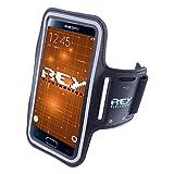 Brazalete Deportivo Reflectante para Smartphones Desde 5' hasta 6', en Color Negro