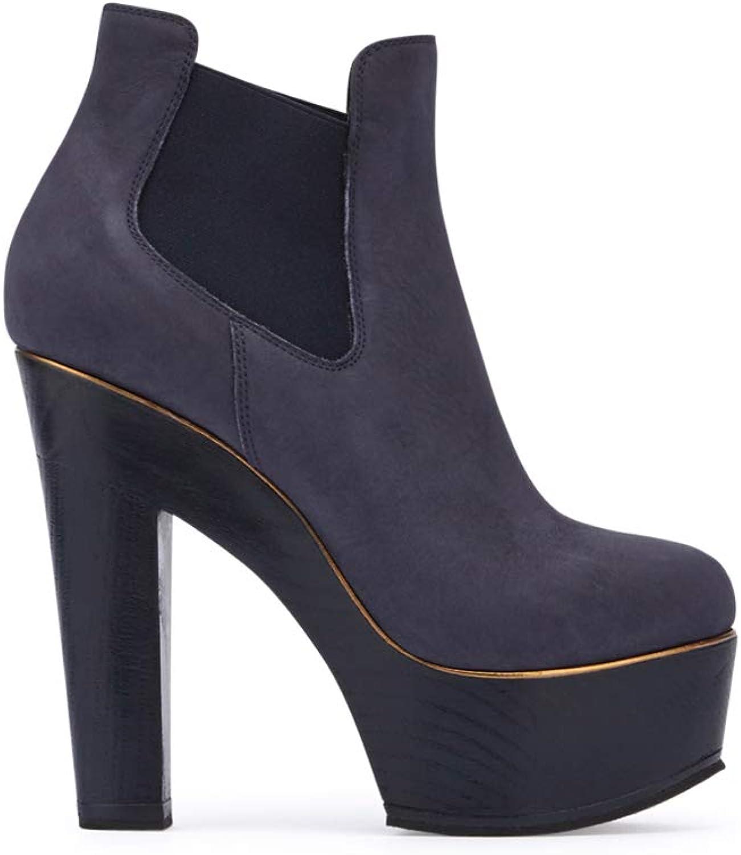Fabi Fabi Damen-Schuhe Catalina Aqua Nabuk col.9082  Schau dir die billigsten an