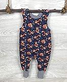 Strampler Fuchs blau Hose, einteiler, strampelanzug, latzhose, Erstausstattung