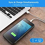 Tayuzh Battery Case For Iphone 55sse 4000mah Slim Portable Protective Charging Case Rechargeable Extended Battery Pack Backup Battery Charger Case For Iphone 55sse40 Inch Black