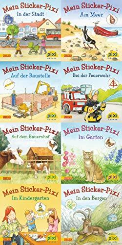 Pixi-Bundle 8er Serie 199: Sticker Pixis (Pixi-8er-Set, Band 199)