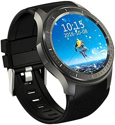 Reloj Inteligente Pantalla Redonda Completa Android 5.1 WiFi GPS 3G Llamada Frecuencia Cardíaca Uuml Monitoreo Smartwatch