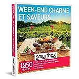 SMARTBOX - Coffret Cadeau Couple - Idée cadeau original : Weekend charme et gastronomie à la découverte des terroirs