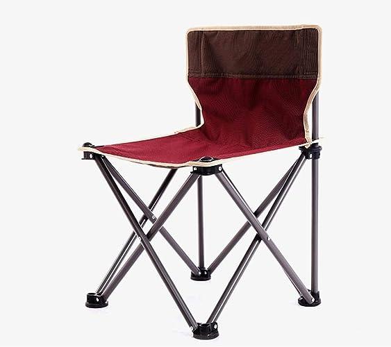 CFR-Chair Chaise de Plage Pliante Chaise de pêche en Plein air pour Les Loisirs en Plein air à Sketches Chaise de Camping Cadeau Barbecue Auto-Conduite