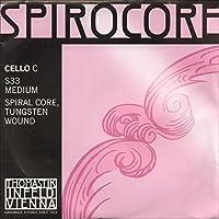 THOMASTIK SPIROCORE スピロコア チェロ弦 C線タングステン巻 4/4 S33